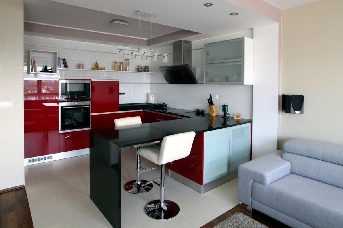 Cozinha Americana a integração dos cômodos #6D2024 1200 800