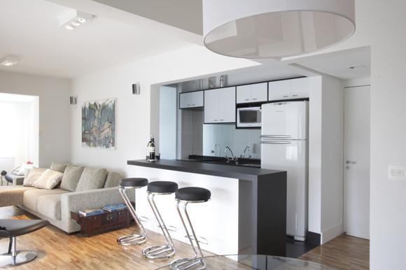 decoracao de sala e cozinha juntas simples:Decoracao De Cozinha Americana