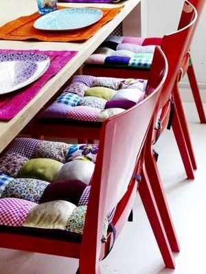 Cadeiras Patchwork