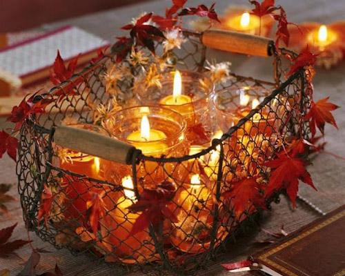 Enfeite De Outono ~ Outono O charme toma conta da decoraç u00e3o nesta estaç u00e3o
