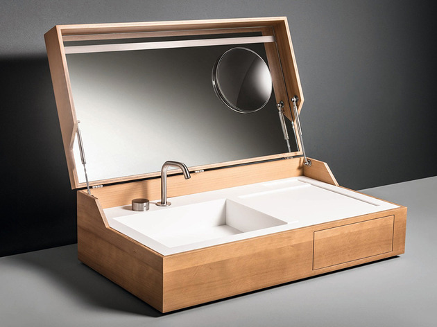 Cuba para banheiros Box alia beleza e funcionalidade -> Cuba Para Box De Banheiro