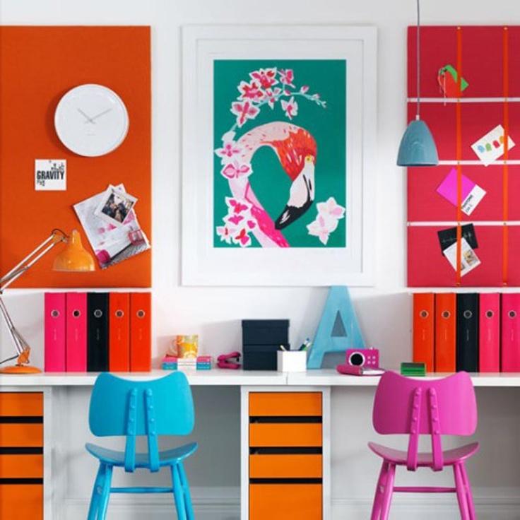 Decoração moderna office