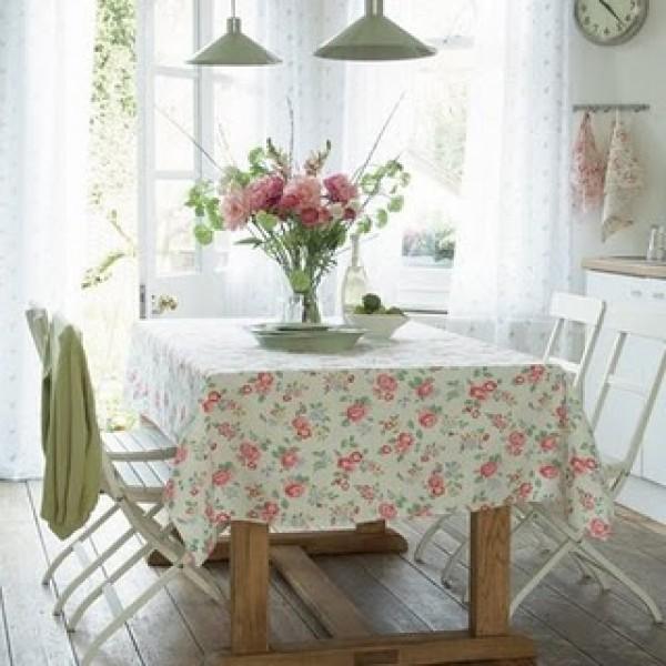 Floral na decoração da cozinha