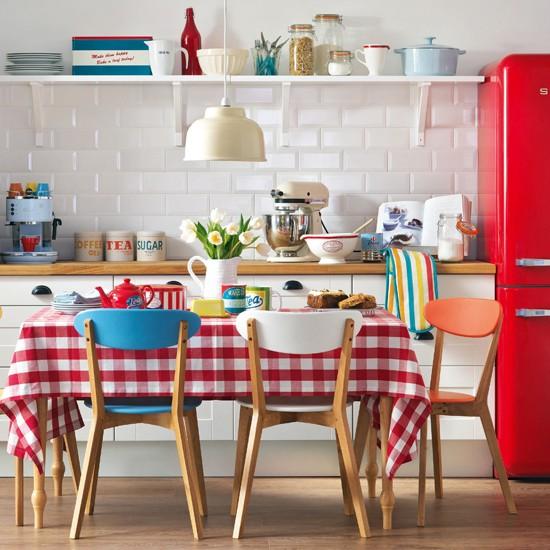 Ideias para cozinha - decoração retrô
