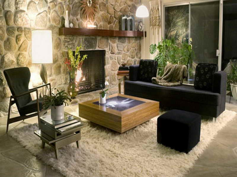 O tapete ficou lindo neste estilo de decoração