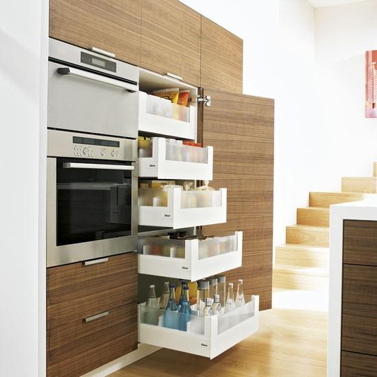 Móveis planejados na cozinha