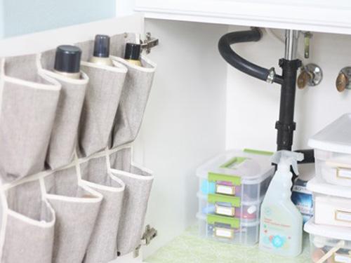 Banheiro ideias para colocar a mão na massa -> Organizador Multiuso Para Pia De Banheiro