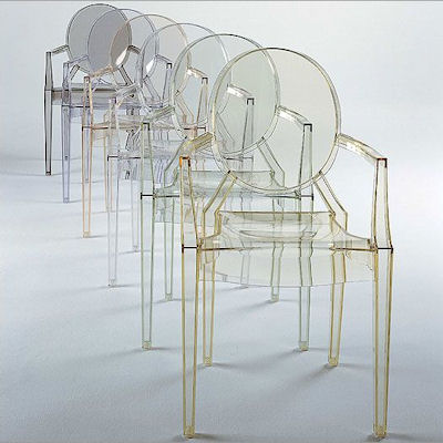 Louis Ghost por Philippe Starck