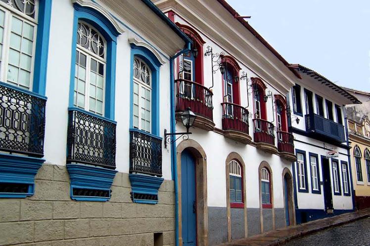 Arquitetura colonial na cidade de Ouro Preto