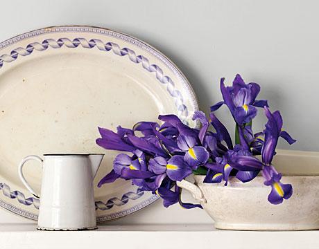 Arranjos florais com flores Íris