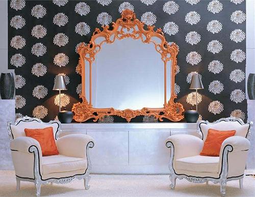 Espelho barroco na decoração