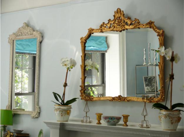Espelhos são ótimos para decorar corredores