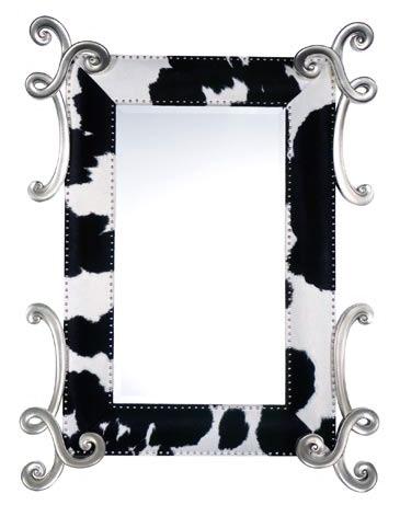 Estampa animal nos espelhos