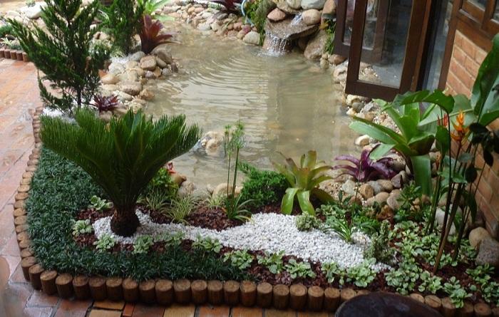 ideias para um jardim bonitoJardim Bonito Jardim De Inverno Pequeno