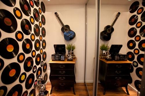 Paredes decoradas com muito estilo na sua casa ~ Revestimento Vinil Quarto