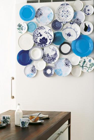 Porcelana fina na decoração