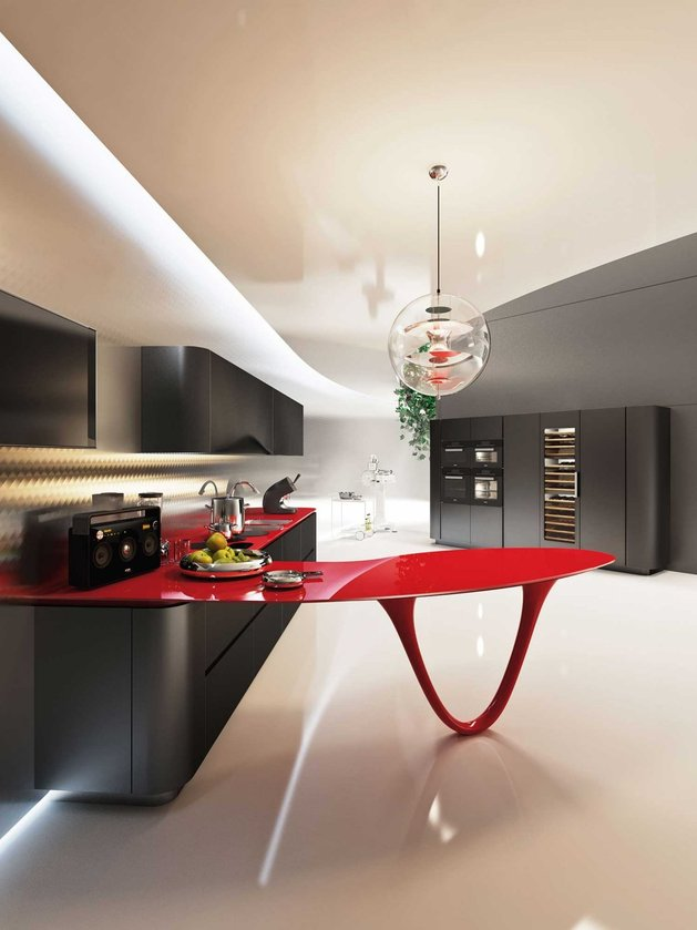 Cozinha Ferrari - Das pistas de corrida para a sua casa