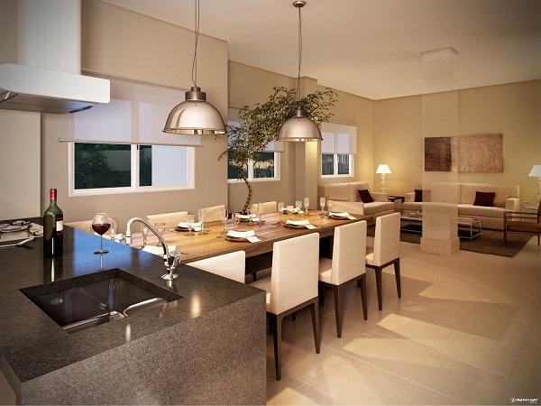 Um espaço gourmet mais sofisticado