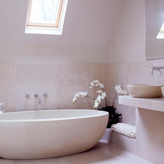 Um spa moderno em casa