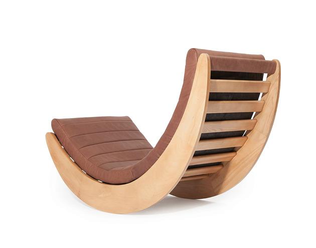 Rocking chair relaxer do designer verner panton for Mecedoras modernas