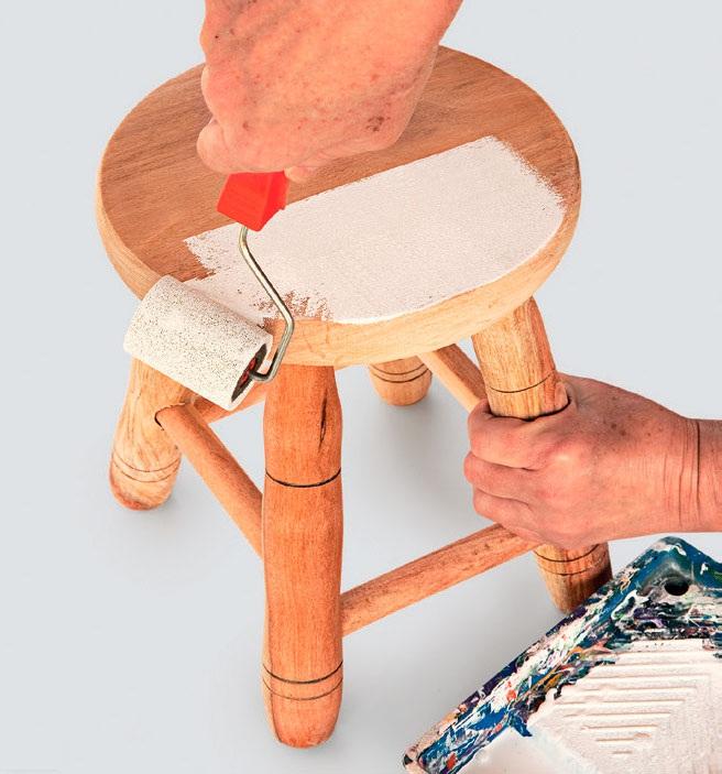 1º passo para customizar seu banquinho