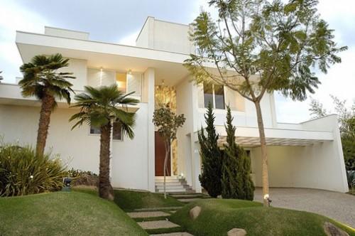 Fachada o cart o de visitas da sua casa Casas modernas grandes por dentro