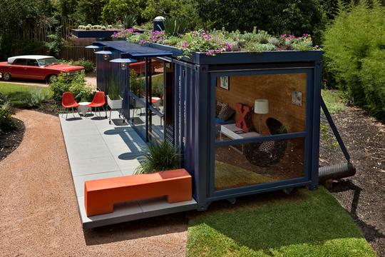 Casa feita de containers