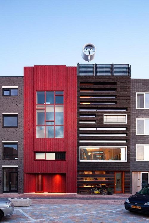 Casa sustentavel em Amsterdã