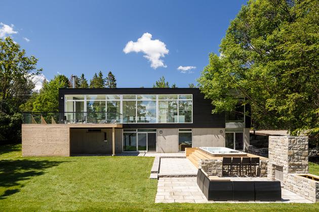 Conheça esta casa moderna direto do Canadá