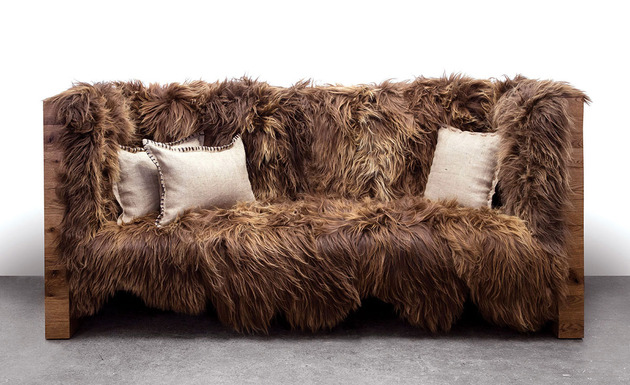 Conheça um lindo estofado de lã