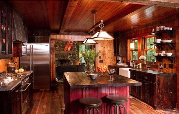 decorar cozinha rustica:Cozinha rustica – Inspire-se para decorar sua cozinha