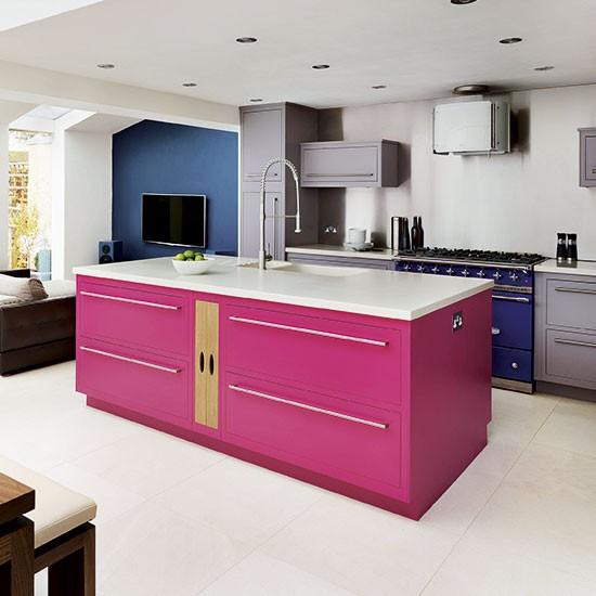 Cozinhas coloridas - Ideias para você se inspirar