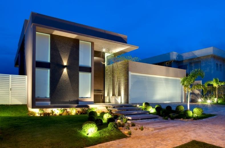 Fachada o cart o de visitas da sua casa for Casa moderna milano