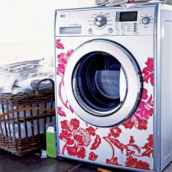 Decorando e organizando a lavanderia