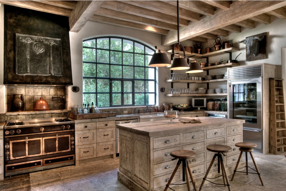 decorar cozinha rustica : decorar cozinha rustica:Country Rustic Kitchen Design