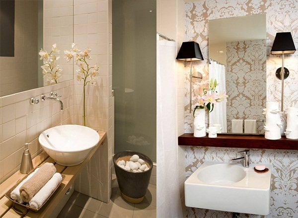 decoracao de lavabos chiques : Lavabos - Decore este espa?o da sua casa com muito charme