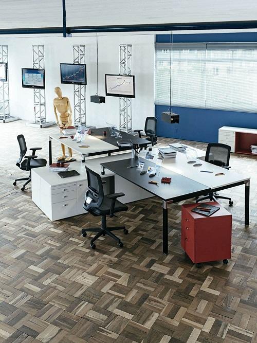 Office moderno perfeito para empresas que trabalham com finanças