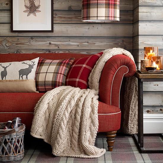 Ideia de sala de estar rustica