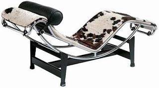 A Chaise LC4 é puro charme