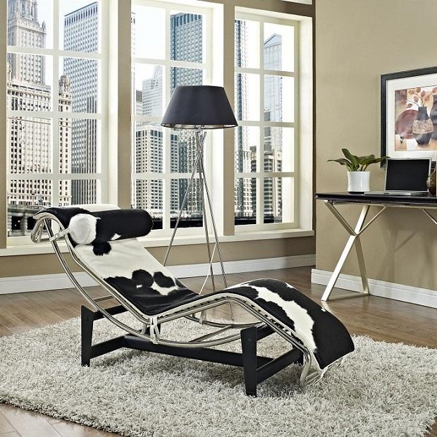 A Chaise LC4 combina muito bem com qualquer decoração