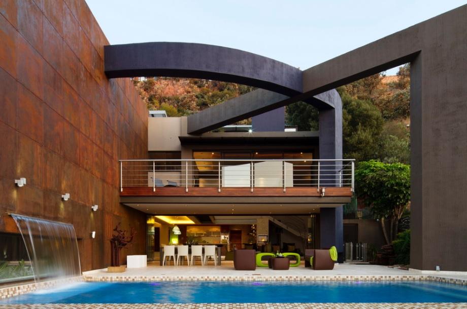 Arquitetura moderna ou contempor nea for Outer designs of beautiful houses