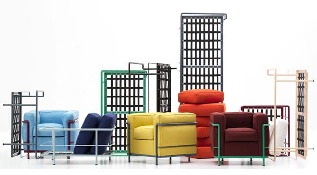 As poltronas Le Corbusier