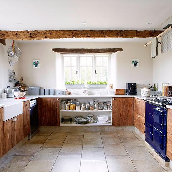 Cozinha na casa de pedra