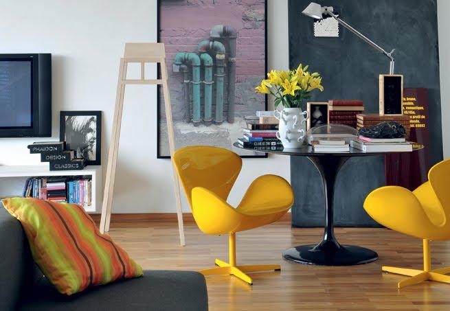 Mesas Saarinen são lindas em qualquer ambiente