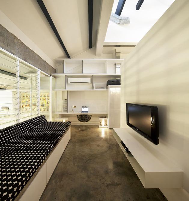 O loft é perfeito para quem busca maximizar os espaços