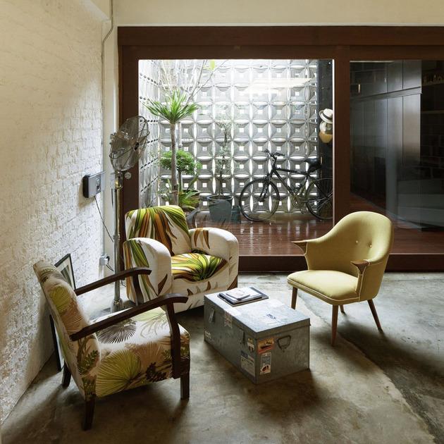 Os espaços são perfeitos para receber os convidados e relaxar