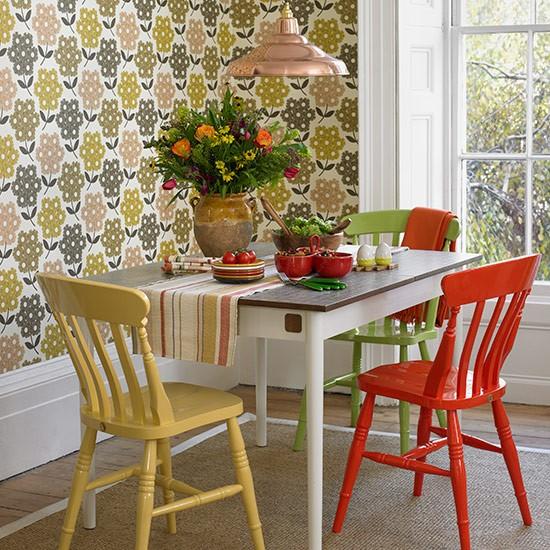decoracao de sala retro:Sala de jantar rustica – Inspiração para decorar