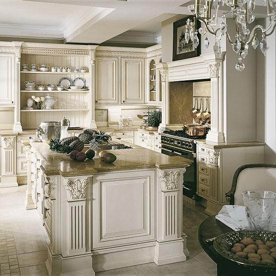 Um belo exemplo de cozinha tradicional