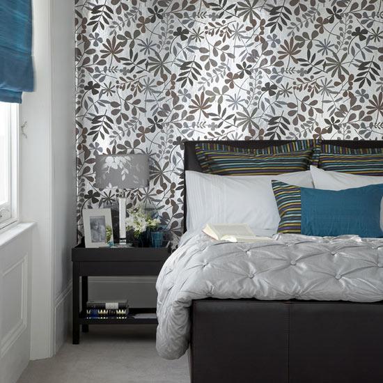 Um esquema de cores perfeito para o quarto