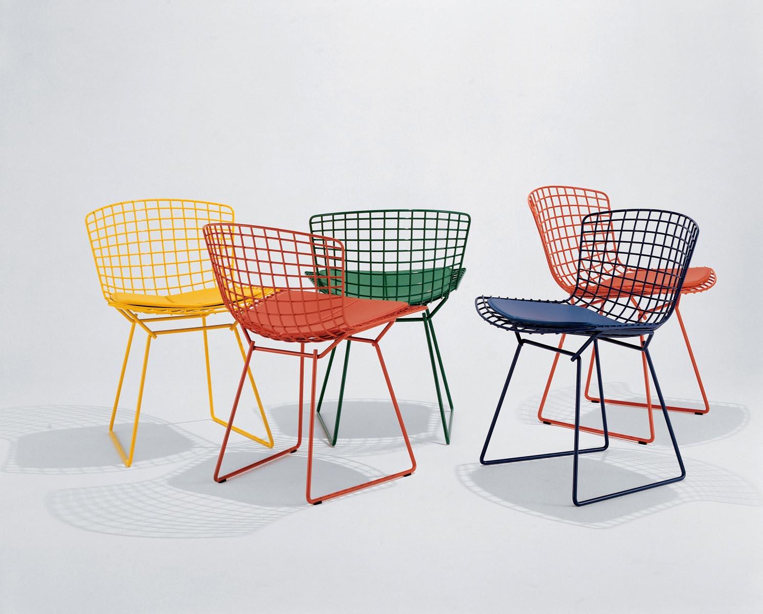 A cadeira Bertoia é um ícone do design mundial